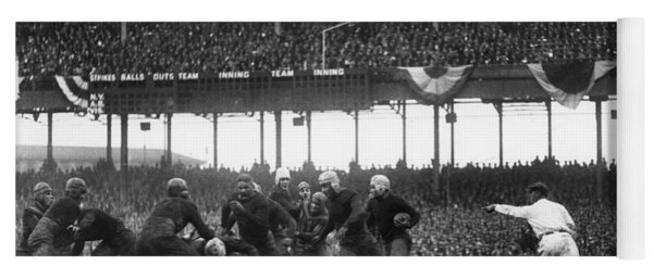 Football Game, 1925 Yoga Mat
