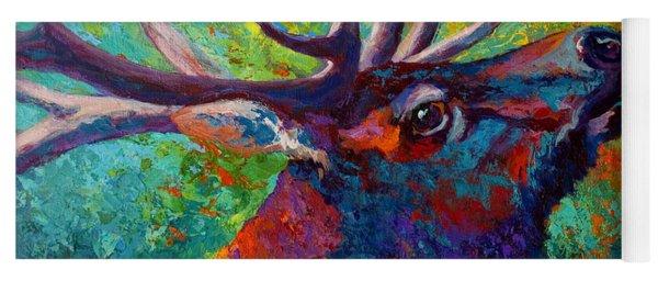 Forest Echo - Bull Elk Yoga Mat
