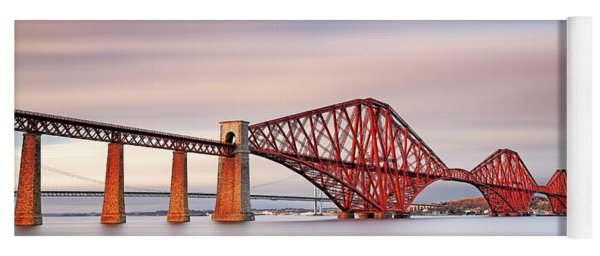 Forth Railway Bridge Yoga Mat