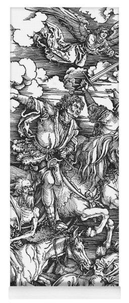 Four Horsemen Of The Apocalypse Yoga Mat