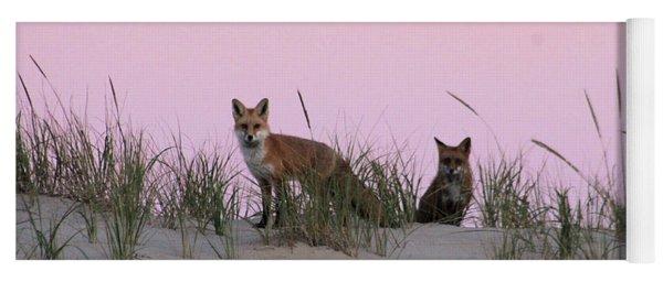 Fox And Vixen Yoga Mat