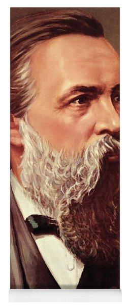 Friedrich Engels Yoga Mat