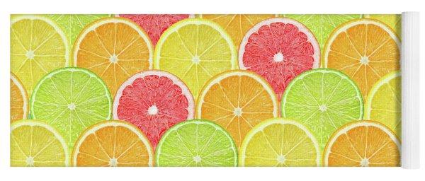 Fresh Fruit  Yoga Mat