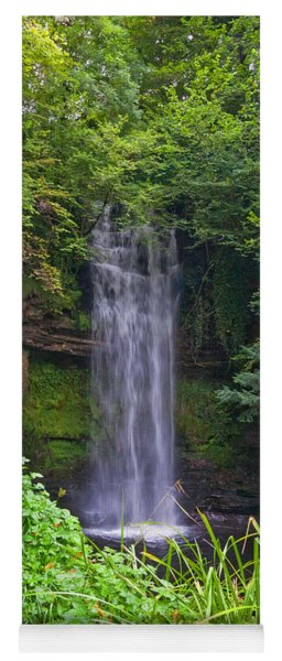 Glencar Waterfall Is Situated Yoga Mat
