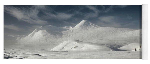 Glencoe Winter Landscape Yoga Mat