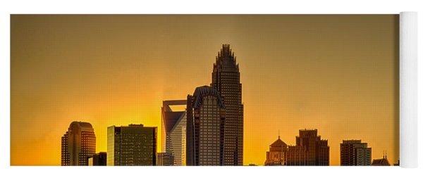 Golden Charlotte Skyline Yoga Mat