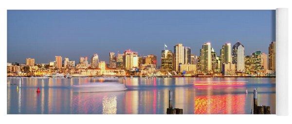 Golden City Yoga Mat