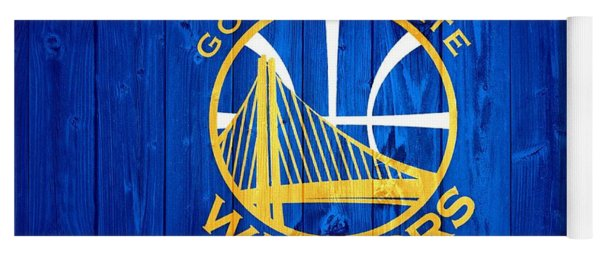 Golden State Warriors Door Yoga Mat