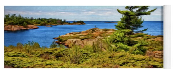 Granite Islands Yoga Mat