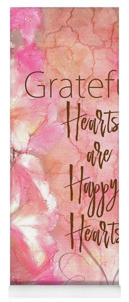 Grateful Hearts Yoga Mat