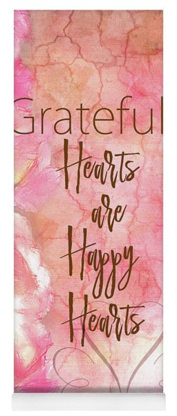 Grateful Hearts Yoga Mat