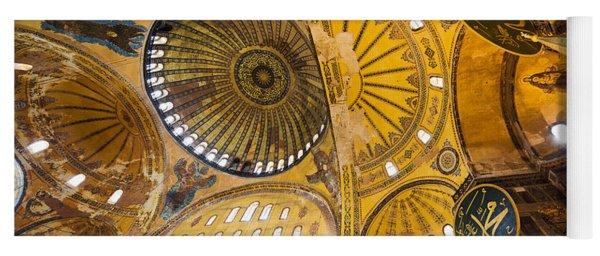 Hagia Sophia Interior Yoga Mat