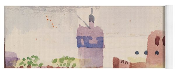 Hammamet With Its Mosque Yoga Mat