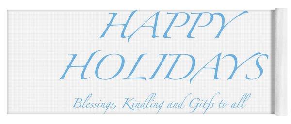 Happy Holidays - Day 2 Yoga Mat
