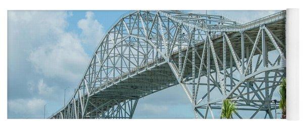Harbor Bridge Yoga Mat