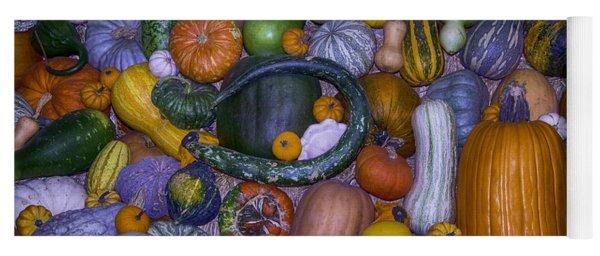 Harvest Abundance  Yoga Mat