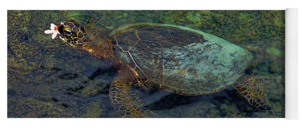 Hawaiian Sea Turtle Yoga Mat