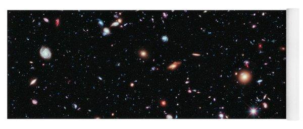 Hubble Extreme Deep Field Yoga Mat