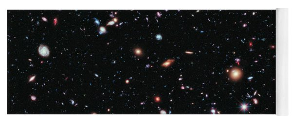 Hubble Extreme Deep Field Yoga Mat