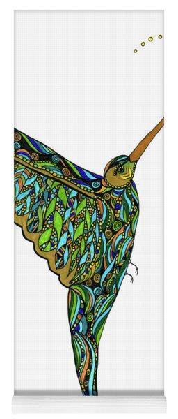Hummingbird Yoga Mat