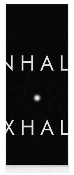 Inhale Exhale Yoga Mat