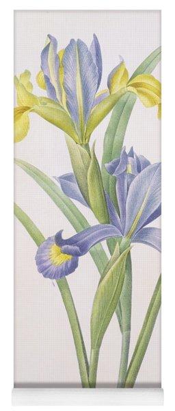 Iris Xiphium Yoga Mat