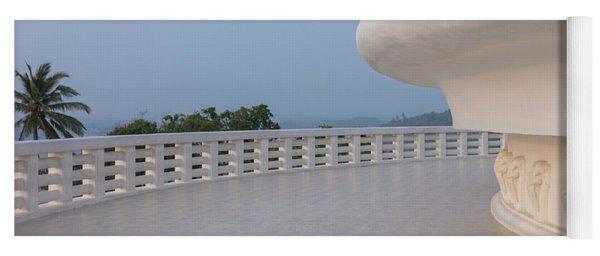 Japanese Peace Pagoda - Sri Lanka Yoga Mat