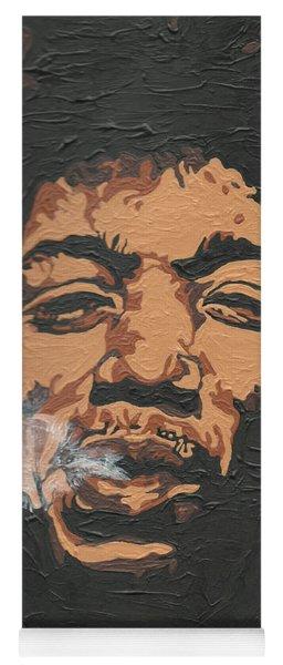 Jimi Hendrix Yoga Mat