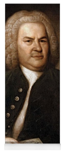 Johann Sebastian Bach, German Baroque Yoga Mat