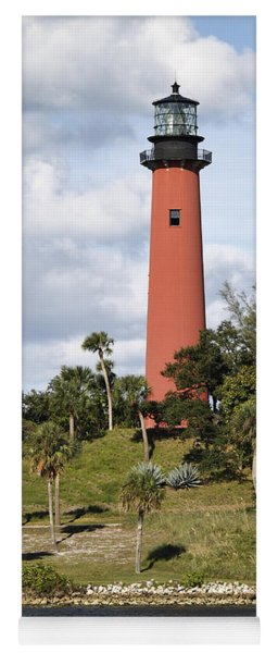 Jupiter Lighthouse Yoga Mat