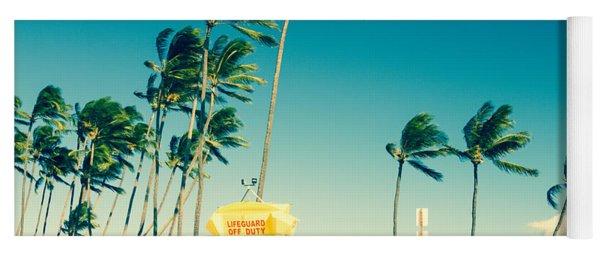 Kapukaulua Beach Maui North Shore Hawaii Yoga Mat