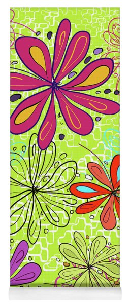 Key Lime Delight Yoga Mat