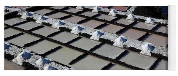La Palma, Canary Island, Salinas, Crystallization Basin Yoga Mat