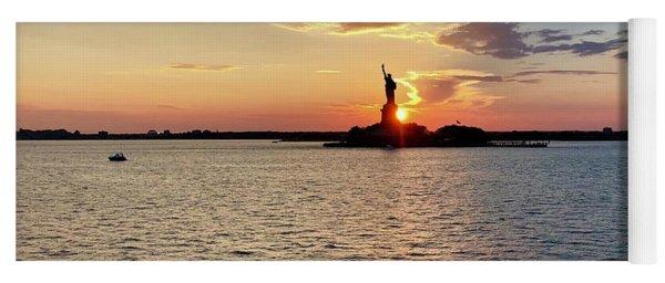 Lady Liberty Yoga Mat