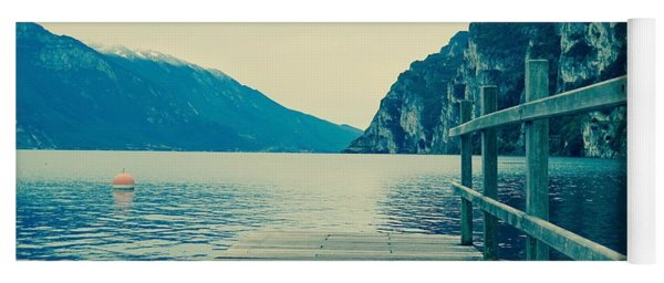 Lake Of Garda Yoga Mat