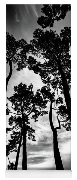 Leaning Trees Yoga Mat