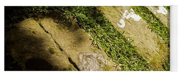 Light Footsteps In The Garden Yoga Mat