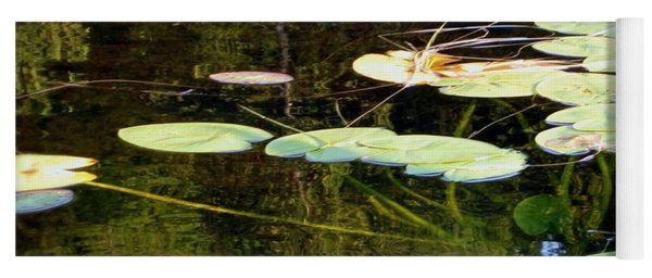 Lily Pads On The Lake Yoga Mat