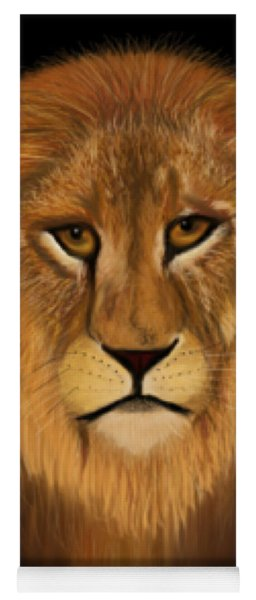 Lion - The King Of The Jungle Yoga Mat
