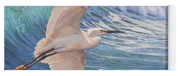 Little Egret Yoga Mat