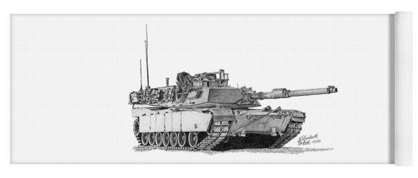 M1a1 Tank Yoga Mat