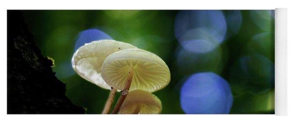 Magic Mushrooms Yoga Mat