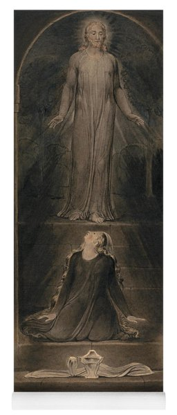 Mary Magdalen At The Sepulchre Yoga Mat