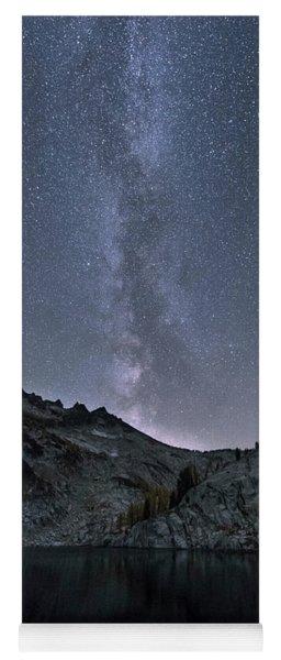 Milky Way At The Enchantments Yoga Mat