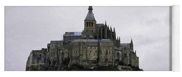 Mont St Michel Yoga Mat