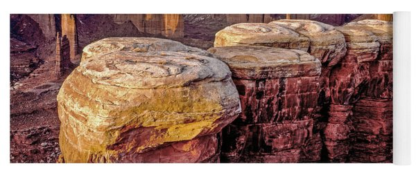 Monument Basin, Canyonlands Yoga Mat