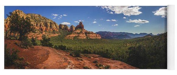 Mormon Canyon Panorama Yoga Mat