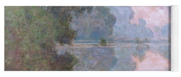 Morning On The Seine Near Giverny 1896 Yoga Mat