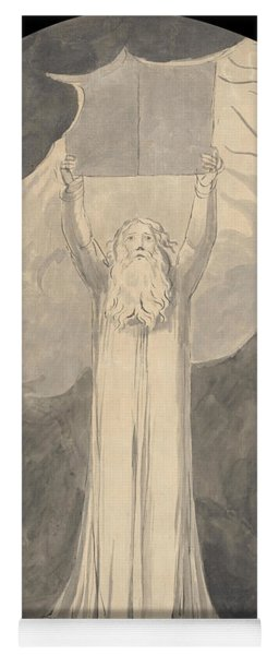 Moses Receiving The Law Yoga Mat