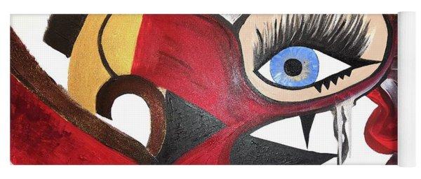Motley Eye 2 Yoga Mat